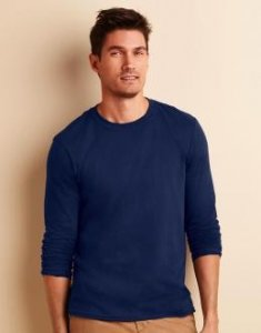 Gildan Mens Softstyle® Long Sleeve Tee Gildan 64400
